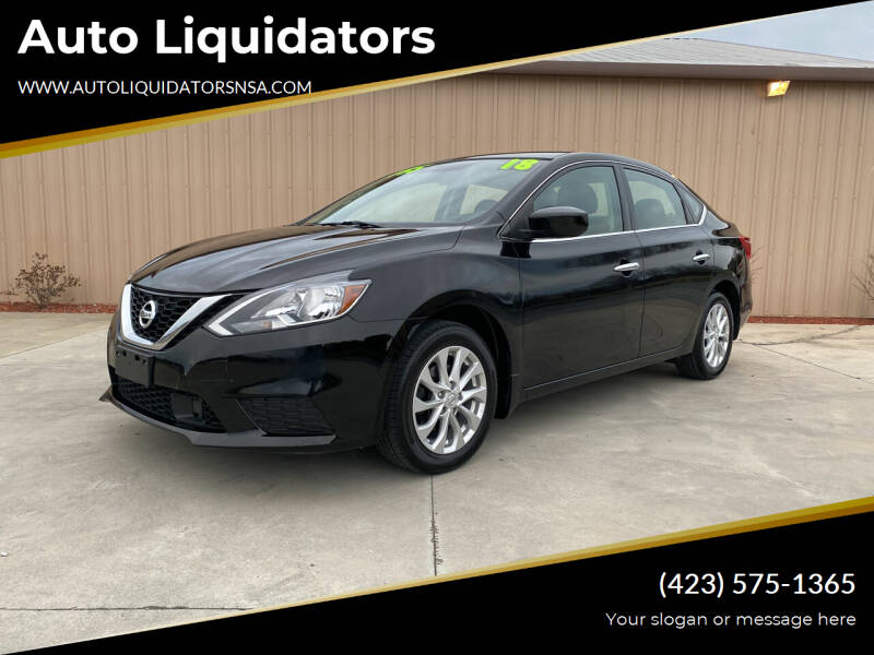2018 Nissan Sentra for sale at Auto Liquidators in Bluff City TN