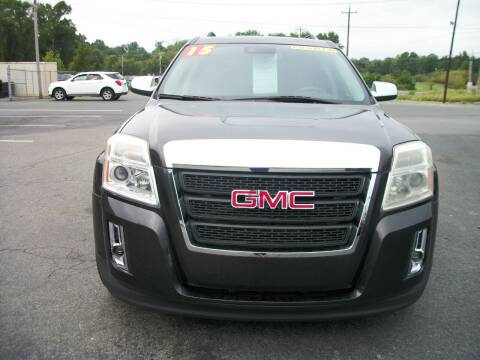 2015 GMC Terrain for sale at Lentz's Auto Sales in Albemarle NC