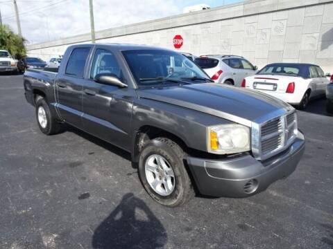 2007 Dodge Dakota for sale at DONNY MILLS AUTO SALES in Largo FL