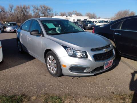 2016 Chevrolet Cruze Limited for sale at L & J Motors in Mandan ND