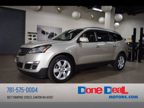 2017 Chevrolet Traverse for sale at DONE DEAL MOTORS in Canton MA