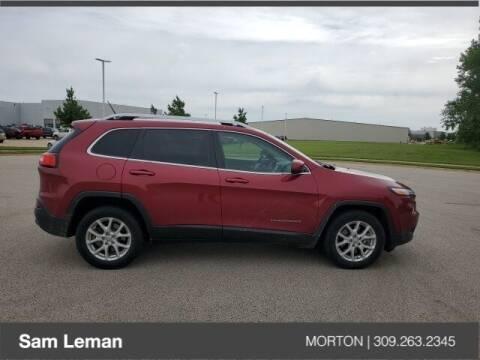 2014 Jeep Cherokee for sale at Sam Leman CDJRF Morton in Morton IL