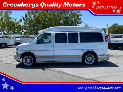 2007 GMC Savana Cargo for sale at Greenbergs Quality Motors in Napa CA