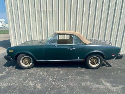 1976 FIAT 124 Spider for sale at Classic Car Deals in Cadillac MI