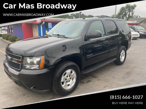 2011 Chevrolet Tahoe for sale at Car Mas Broadway in Crest Hill IL