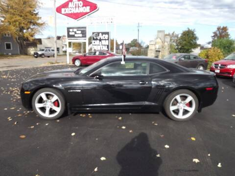 2012 Chevrolet Camaro for sale at The Auto Exchange in Stevens Point WI