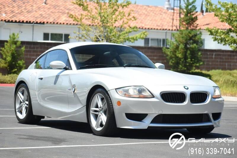 2007 BMW Z4 M for sale at Galaxy Autosport in Sacramento CA