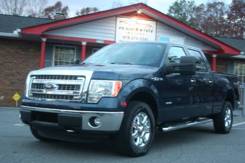 2013 Ford F-150 for sale at Peach State Motors Inc in Acworth GA