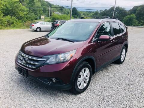 2012 Honda CR-V for sale at R.A. Auto Sales in East Liverpool OH