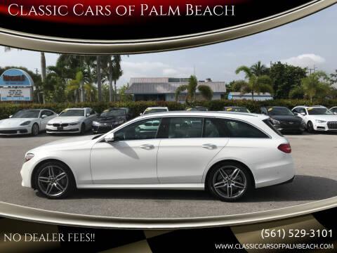 2020 Mercedes-Benz E-Class for sale at Classic Cars of Palm Beach in Jupiter FL