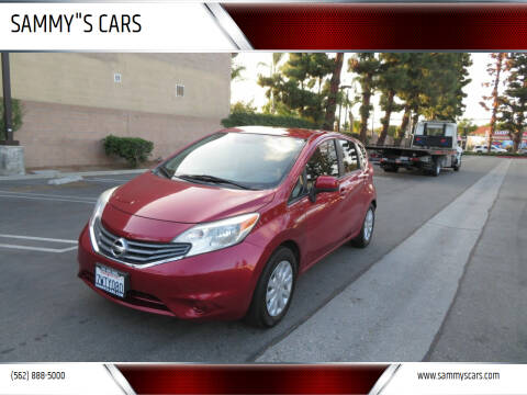 "2014 Nissan Versa Note for sale at SAMMY""S CARS in Bellflower CA"