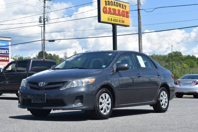 2011 Toyota Corolla for sale at Broadway Garage of Columbia County Inc. in Hudson NY