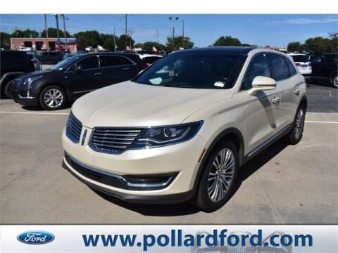 2018 Lincoln MKX for sale at South Plains Autoplex by RANDY BUCHANAN in Lubbock TX