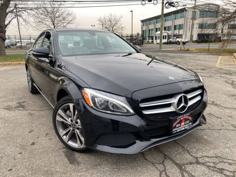 2018 Mercedes-Benz C-Class for sale at JerseyMotorsInc.com in Teterboro NJ