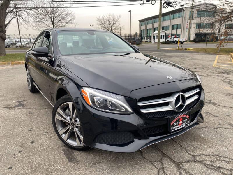 2018 Mercedes-Benz C-Class for sale at JerseyMotorsInc.com in Teterboro NJ