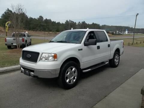 2006 Ford F-150 for sale at Anderson Wholesale Auto in Warrenville SC