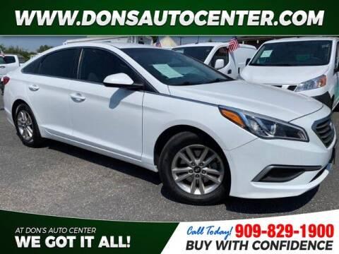 2016 Hyundai Sonata for sale at Dons Auto Center in Fontana CA