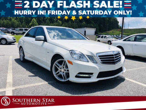 2012 Mercedes-Benz E-Class for sale at Southern Star Automotive, Inc. in Duluth GA
