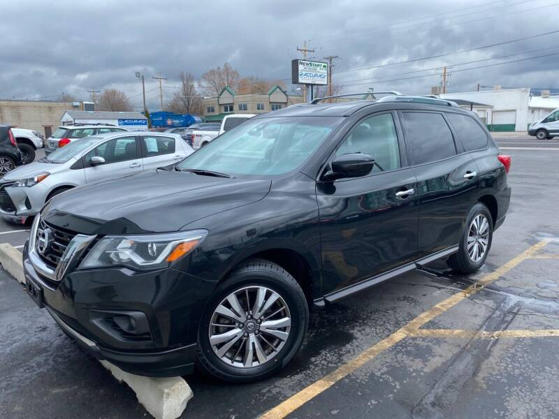 2018 Nissan Pathfinder for sale at New Start Auto in Richardson TX
