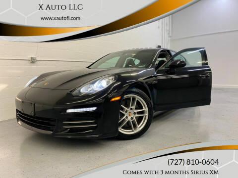 2014 Porsche Panamera for sale at X Auto LLC in Pinellas Park FL