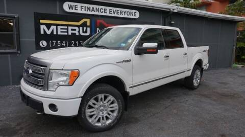 2011 Ford F-150 for sale at Meru Motors in Hollywood FL