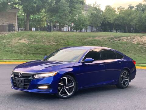 2018 Honda Accord for sale at Diamond Automobile Exchange in Woodbridge VA