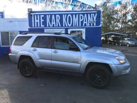 2004 Toyota 4Runner for sale at The Kar Kompany Inc. in Denver CO