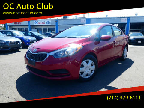 2016 Kia Forte for sale at OC Auto Club in Midway City CA