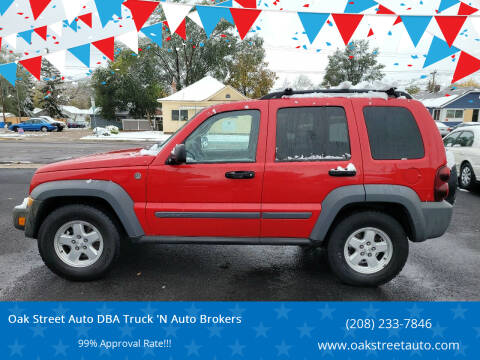 2005 Jeep Liberty for sale at Oak Street Auto DBA Truck 'N Auto Brokers in Pocatello ID