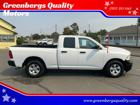 2015 RAM Ram Pickup 1500 for sale at Greenbergs Quality Motors in Napa CA