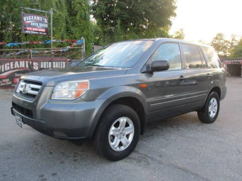 2007 Honda Pilot for sale at Vigeants Auto Sales Inc in Lowell MA