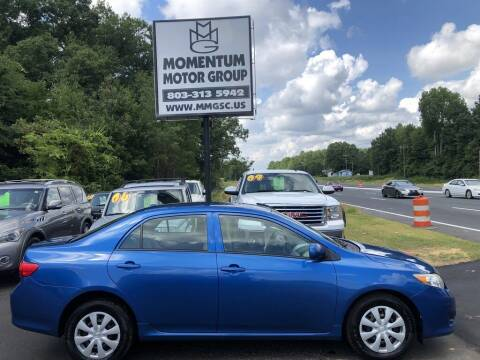 2010 Toyota Corolla for sale at Momentum Motor Group in Lancaster SC