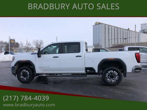 2020 GMC Sierra 3500HD for sale at BRADBURY AUTO SALES in Gibson City IL