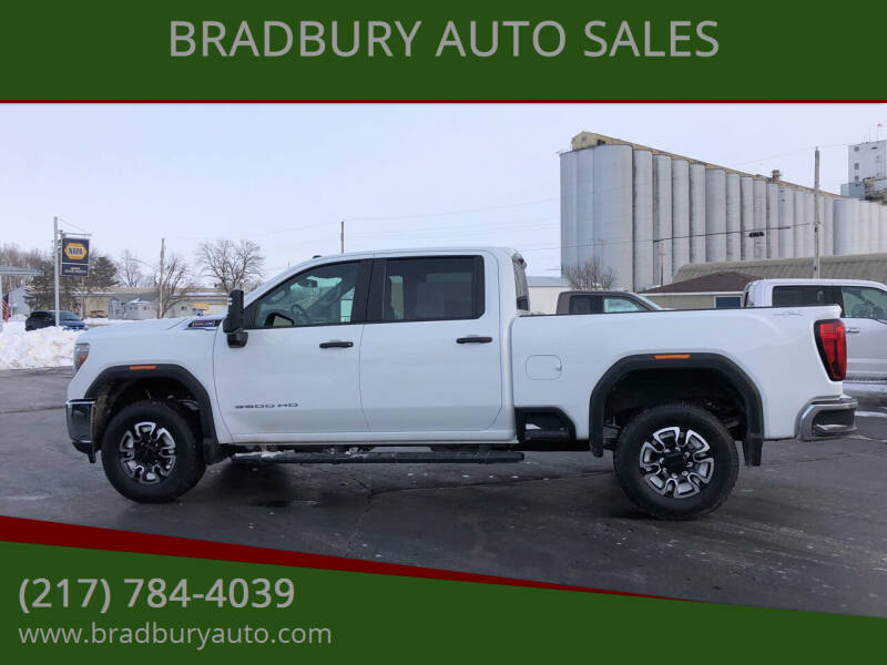 2020 GMC Sierra 3500HD for sale at BRADBURY AUTO SALES in Gibson City IL