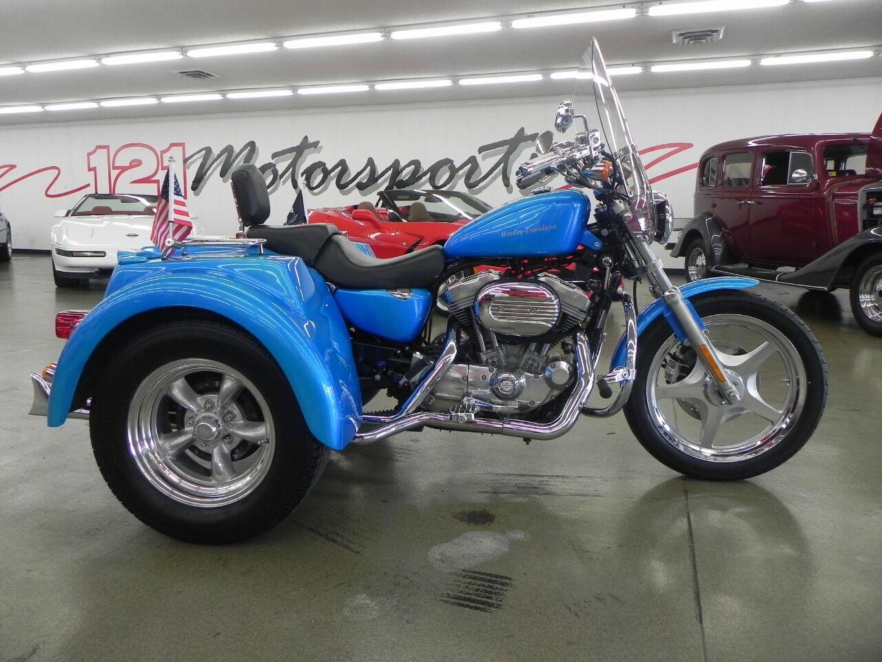 2005 Harley-Davidson Sportster 883 Trike Conversion