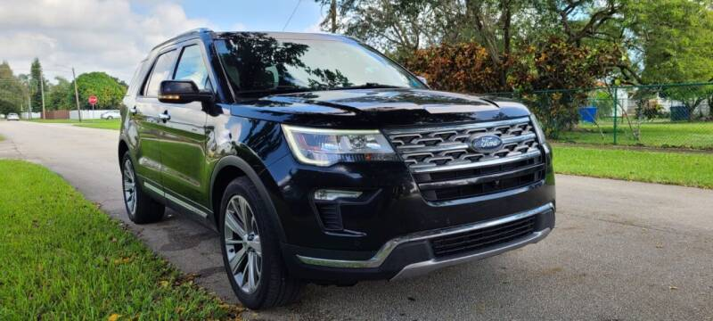 2018 Ford Explorer for sale at HIGH PERFORMANCE MOTORS in Hollywood FL