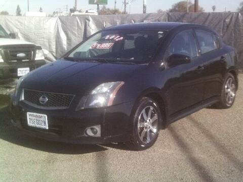 2012 Nissan Sentra for sale at Valley Auto Sales & Advanced Equipment in Stockton CA