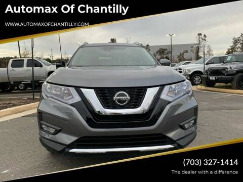 2019 Nissan Rogue for sale at Automax of Chantilly in Chantilly VA