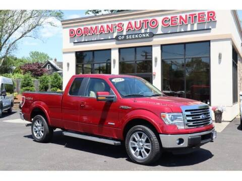 2014 Ford F-150 for sale at DORMANS AUTO CENTER OF SEEKONK in Seekonk MA
