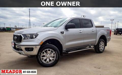 2020 Ford Ranger for sale at Meador Dodge Chrysler Jeep RAM in Fort Worth TX