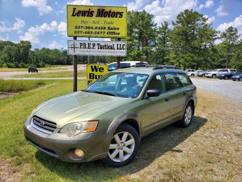2005 Subaru Outback for sale at Lewis Motors LLC in Deridder LA