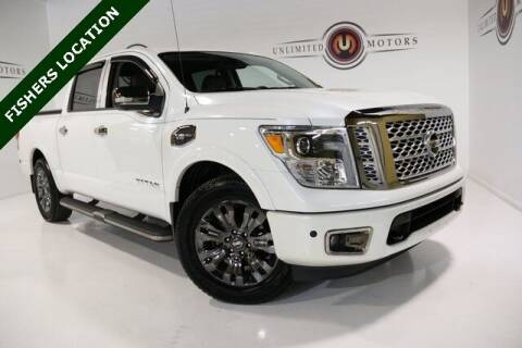 2017 Nissan Titan for sale at Unlimited Motors in Fishers IN