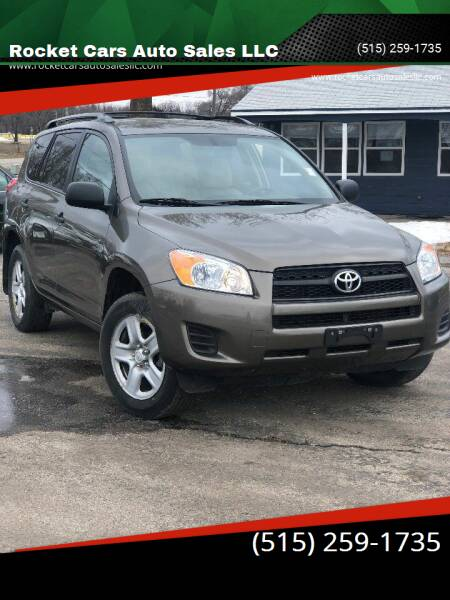 2010 Toyota RAV4 for sale at Rocket Cars Auto Sales LLC in Des Moines IA
