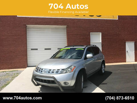 2003 Nissan Murano for sale at 704 Autos in Statesville NC