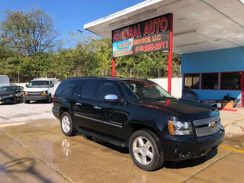 2009 Chevrolet Suburban for sale at Global Auto Sales and Service in Nashville TN