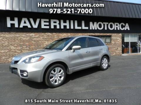 2012 Acura RDX for sale at 125 Auto Finance in Haverhill MA