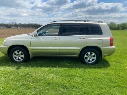 2003 Toyota Highlander for sale at Wendell Greene Motors Inc in Hamilton OH