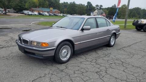 2000 BMW 7 Series for sale at CVC AUTO SALES in Durham NC