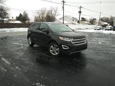 2016 Ford Edge for sale at CITY SELECT MOTORS in Galesburg IL