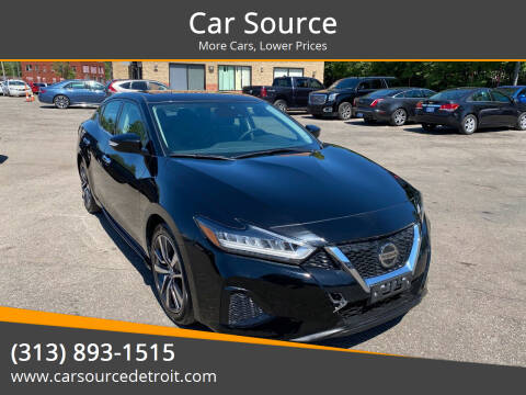 2020 Nissan Maxima for sale at Car Source in Detroit MI